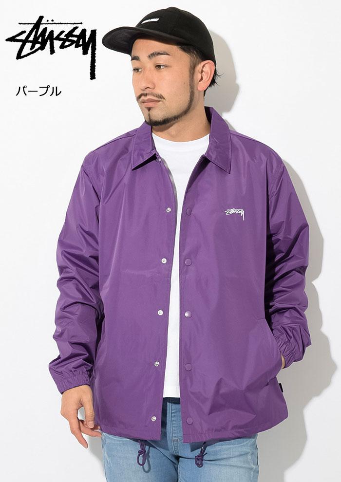 STUSSYステューシーのジャケット Cruize Coach04
