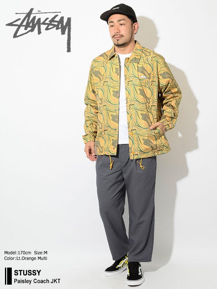 STUSSYステューシーのジャケット Paisley Coach01