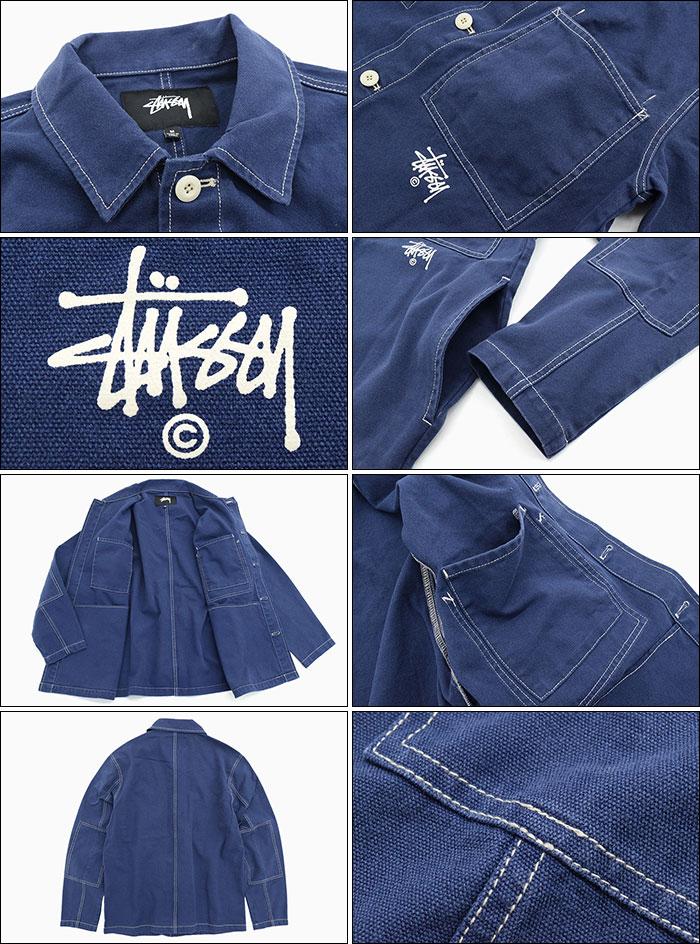 STUSSYステューシーのジャケット Canvas Shop06