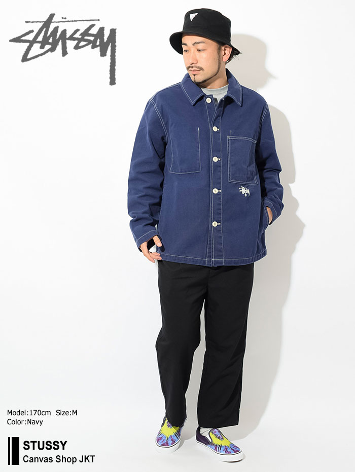 STUSSYステューシーのジャケット Canvas Shop01