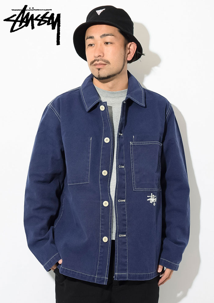 STUSSYステューシーのジャケット Canvas Shop02