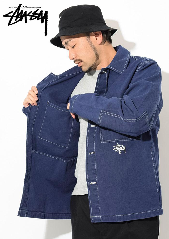 STUSSYステューシーのジャケット Canvas Shop03