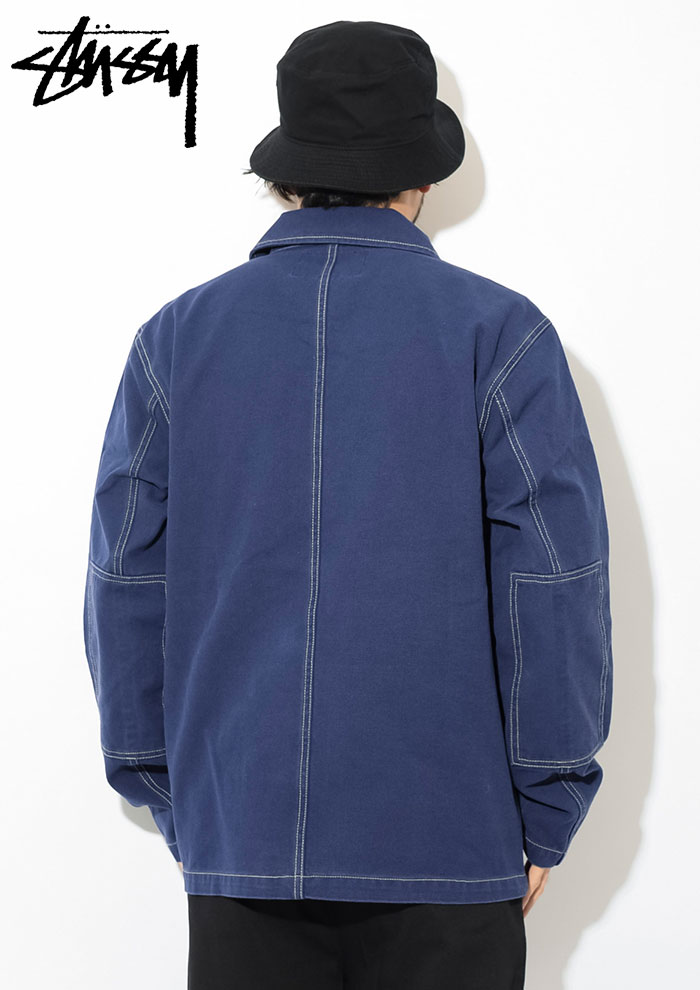STUSSYステューシーのジャケット Canvas Shop04