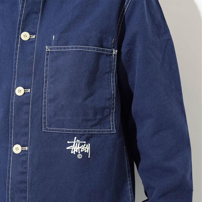 STUSSYステューシーのジャケット Canvas Shop05