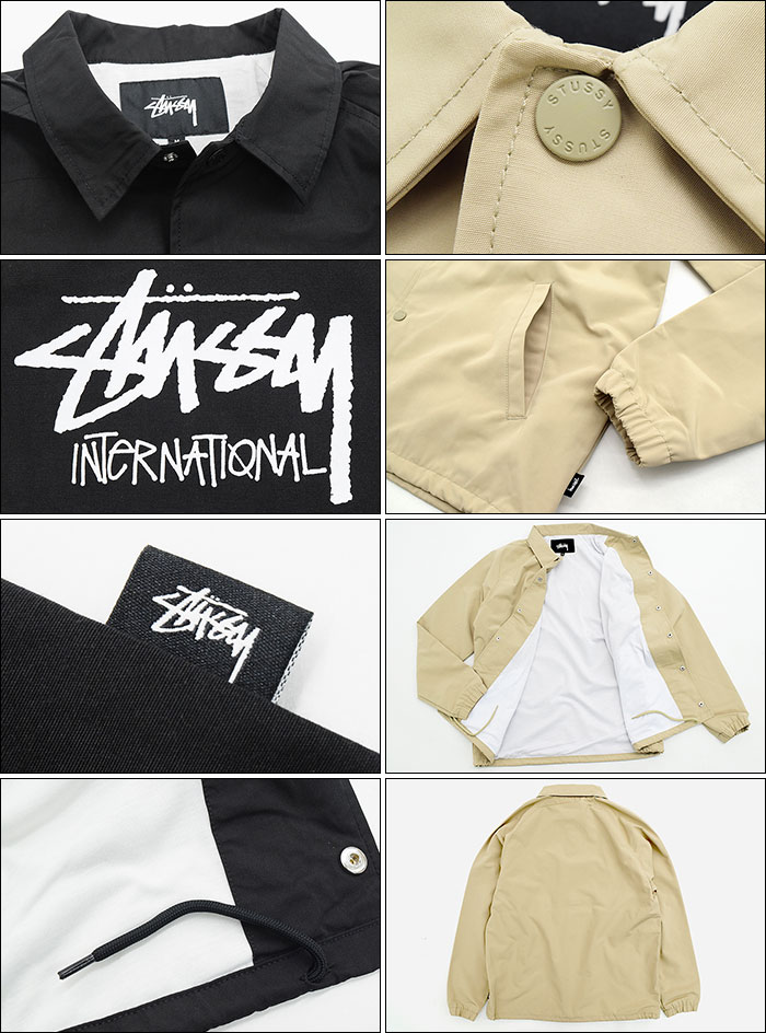 STUSSYステューシーのジャケット Stock International Coach05