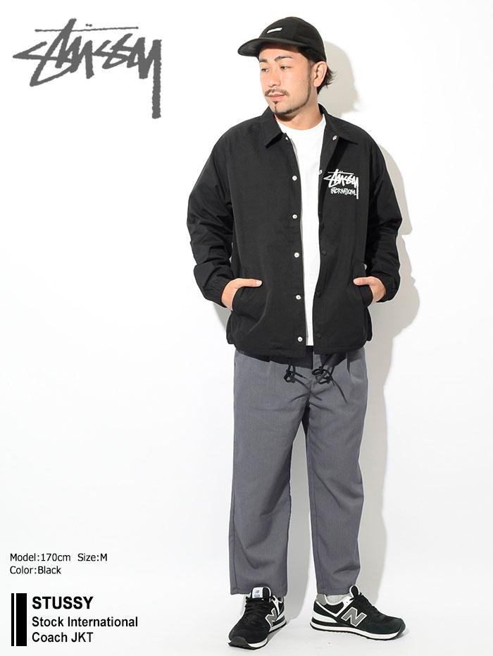STUSSYステューシーのジャケット Stock International Coach01