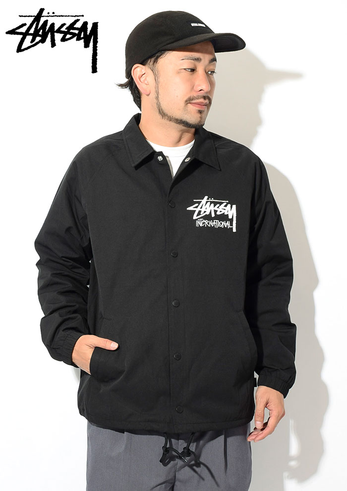 STUSSYステューシーのジャケット Stock International Coach02