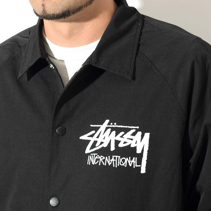 STUSSYステューシーのジャケット Stock International Coach04