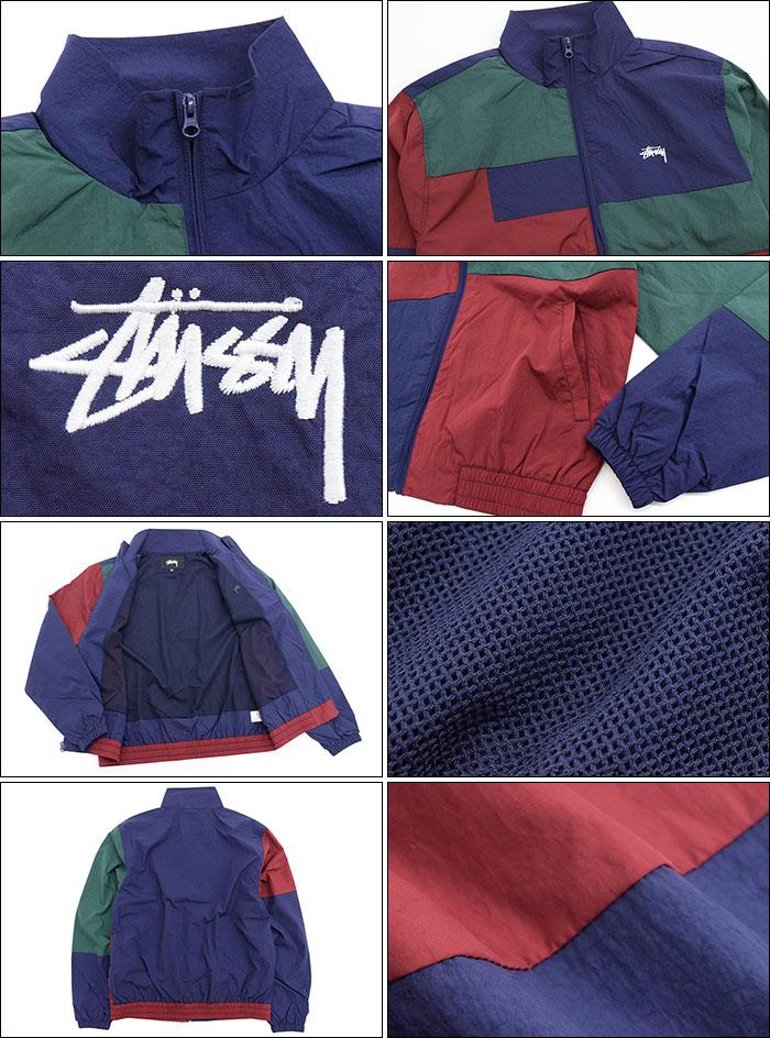 STUSSYステューシーのジャケット Panel Track05