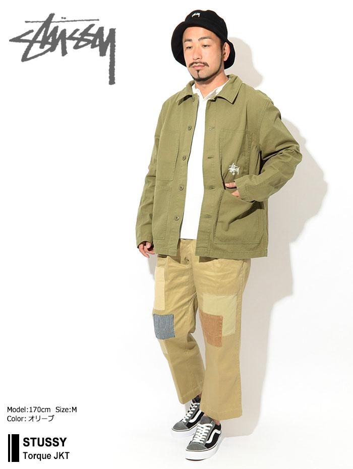 STUSSYステューシーのジャケット Torque01