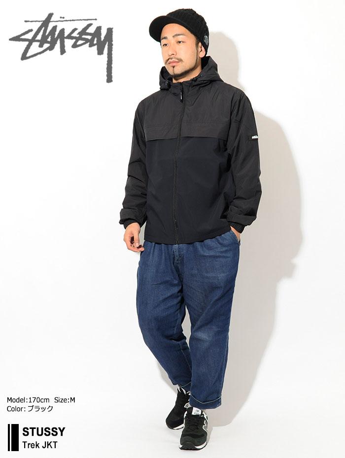STUSSYステューシーのジャケット Trek01
