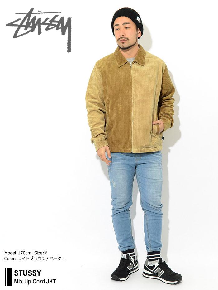 STUSSYステューシーのジャケット Mix Up Cord01