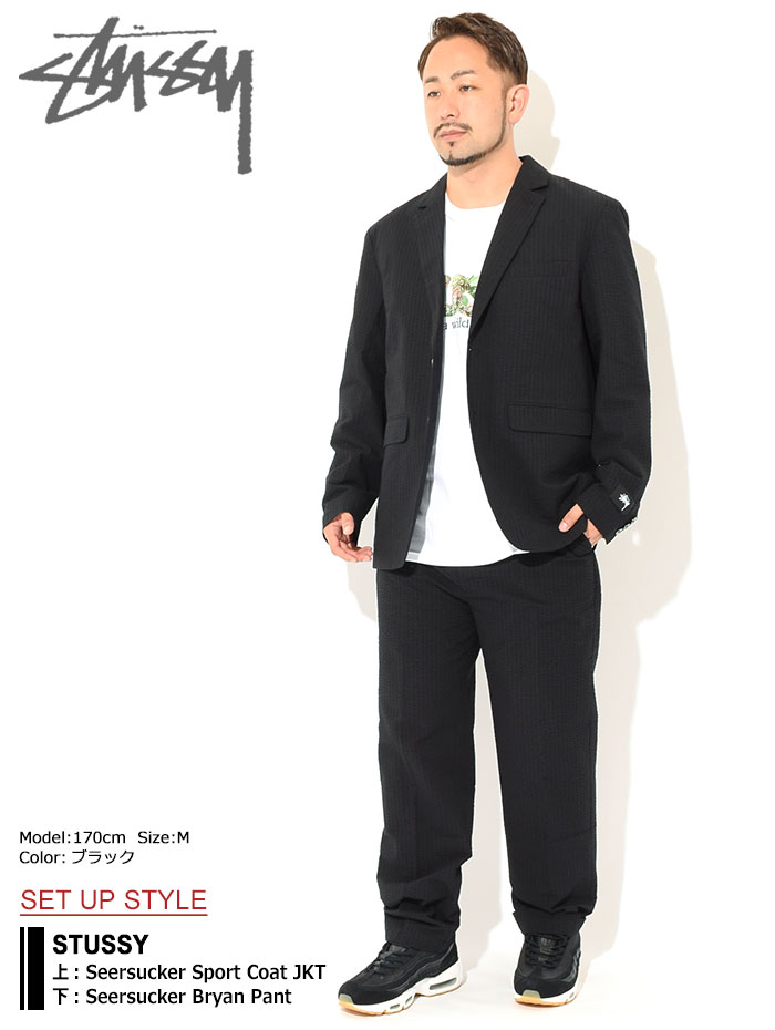 STUSSYステューシーのジャケット 21SU Seersucker Sport Coat01