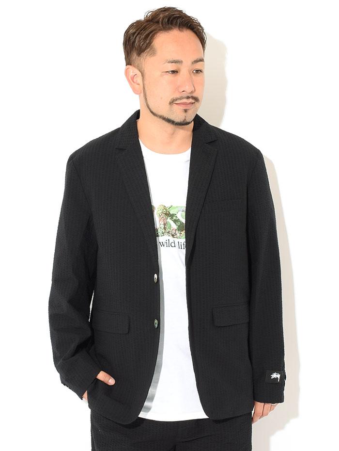 STUSSYステューシーのジャケット 21SU Seersucker Sport Coat02