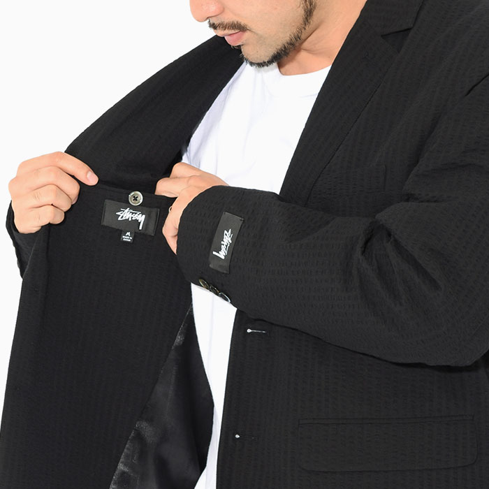 STUSSYステューシーのジャケット 21SU Seersucker Sport Coat05