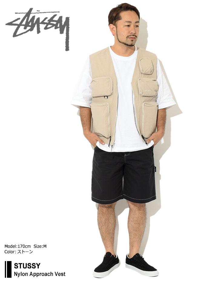 STUSSYステューシーのジャケット Nylon Approach Vest01