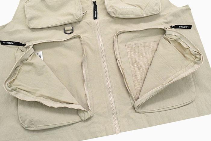 STUSSYステューシーのジャケット Nylon Approach Vest10