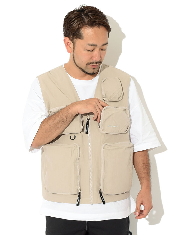 STUSSYステューシーのジャケット Nylon Approach Vest02