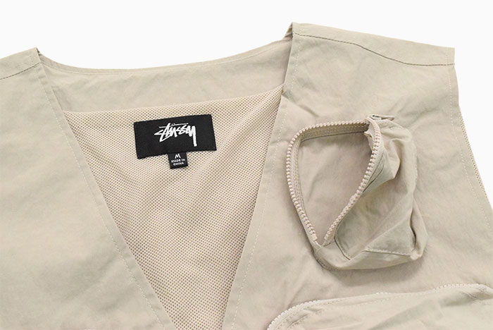STUSSYステューシーのジャケット Nylon Approach Vest06