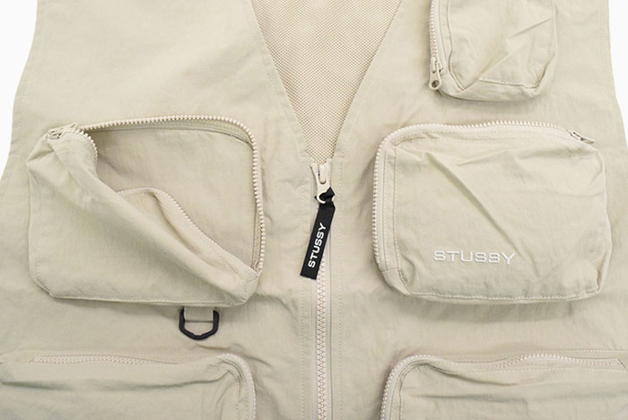 STUSSYステューシーのジャケット Nylon Approach Vest07