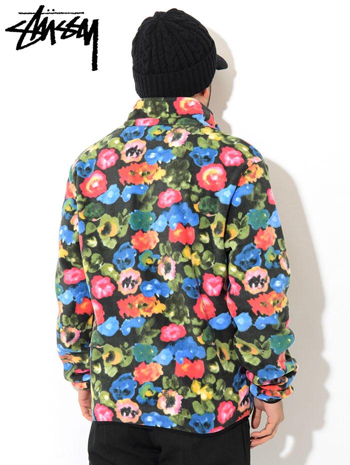 STUSSYステューシーのジャケット Basic Polar Fleece Mock03