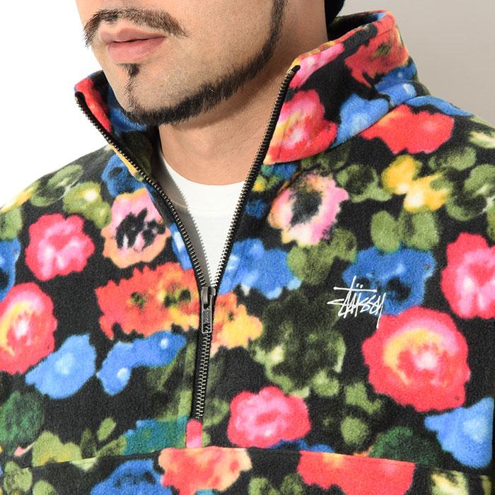 STUSSYステューシーのジャケット Basic Polar Fleece Mock04