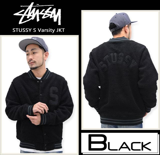 STUSSYステューシーのジャケット S Varsity03
