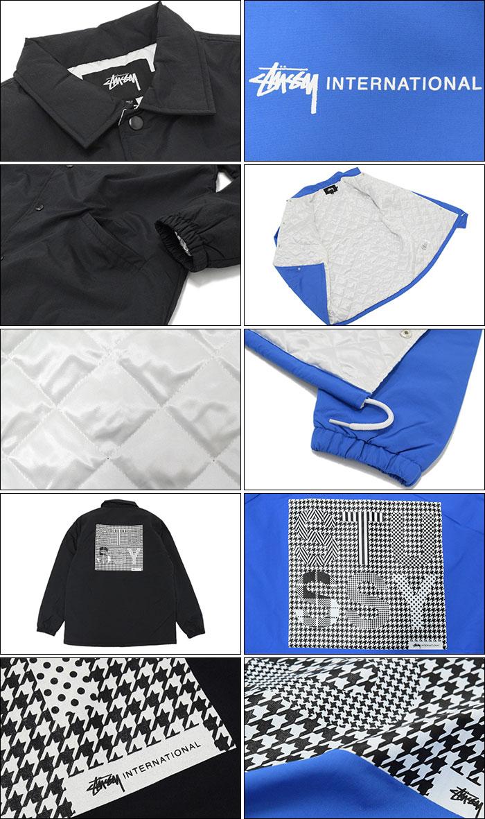 STUSSYステューシーのジャケット INTL Coach02
