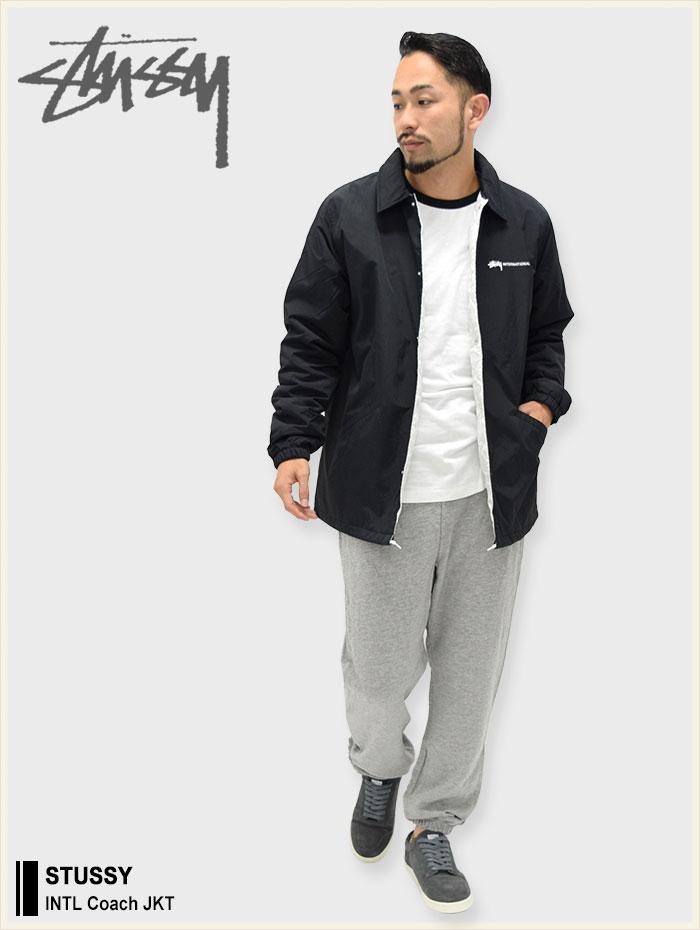 STUSSYステューシーのジャケット INTL Coach01