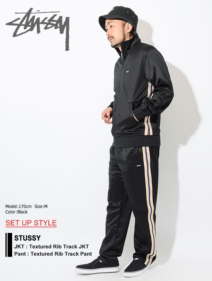 STUSSYステューシーのパンツ Textured Rib Track Pant01