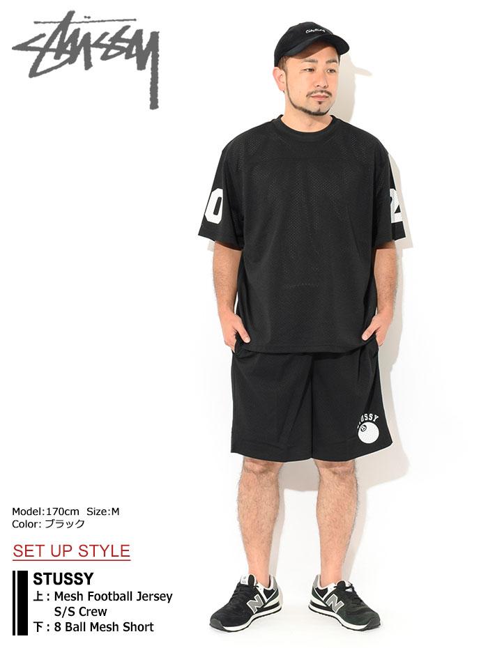 STUSSYステューシーのハーフパンツ 8 Ball Mesh Short01