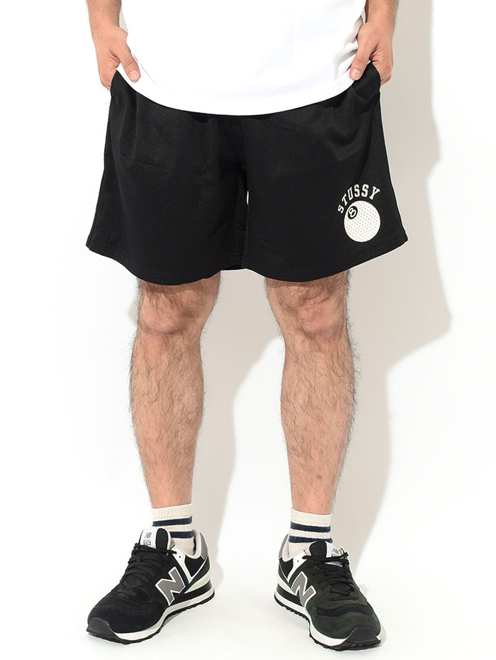 STUSSYステューシーのハーフパンツ 8 Ball Mesh Short02