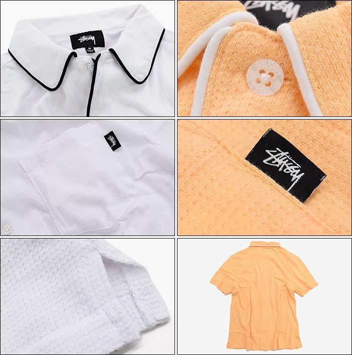 STUSSYステューシーのシャツ Sid Mesh Shirt04