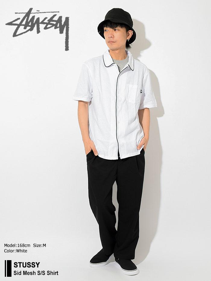 STUSSYステューシーのシャツ Sid Mesh Shirt01