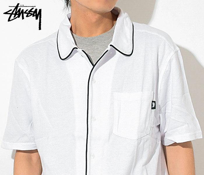 STUSSYステューシーのシャツ Sid Mesh Shirt03