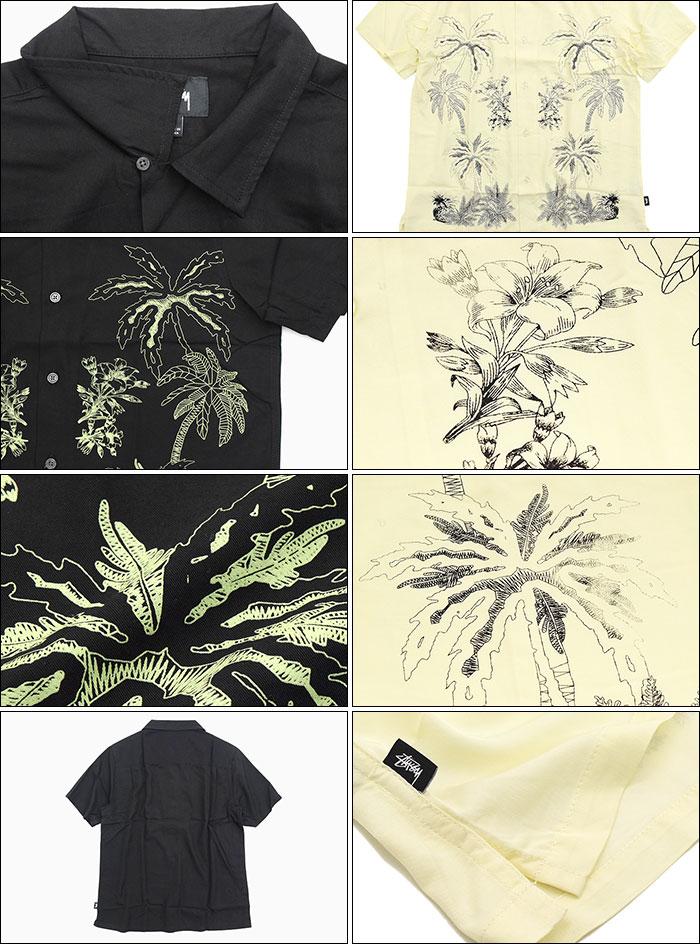 STUSSYステューシーのシャツ Palm Tree Shirt03