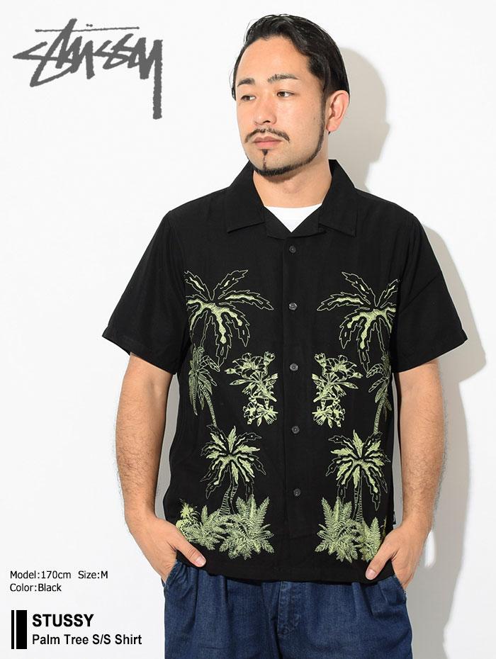 STUSSYステューシーのシャツ Palm Tree Shirt01