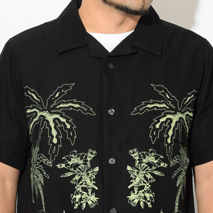 STUSSYステューシーのシャツ Palm Tree Shirt02