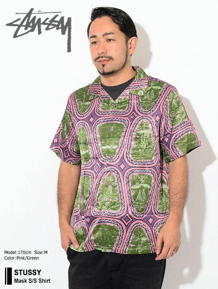 STUSSYステューシーのシャツ Mask Shirt01