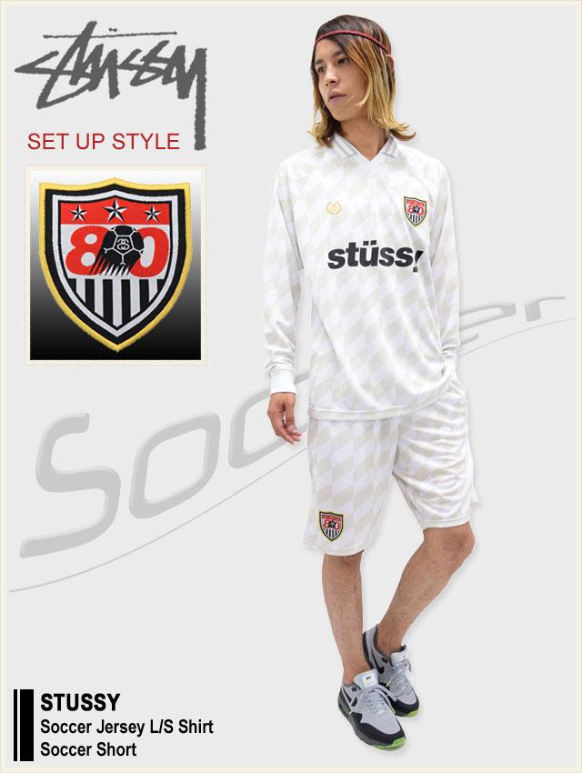 STUSSYステューシーのシャツ Soccer Jersey01