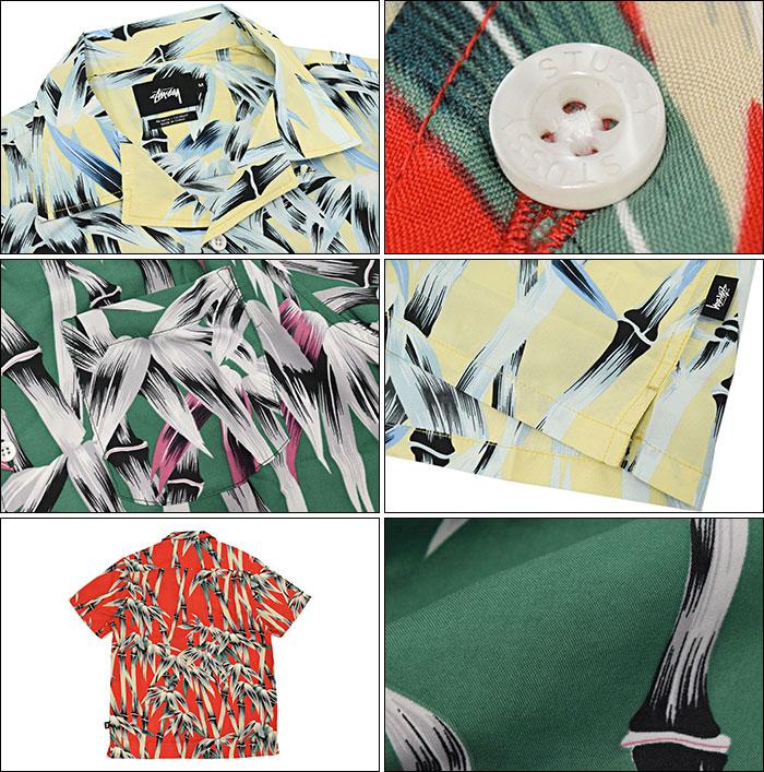 STUSSYステューシーのシャツ Bamboo Print02
