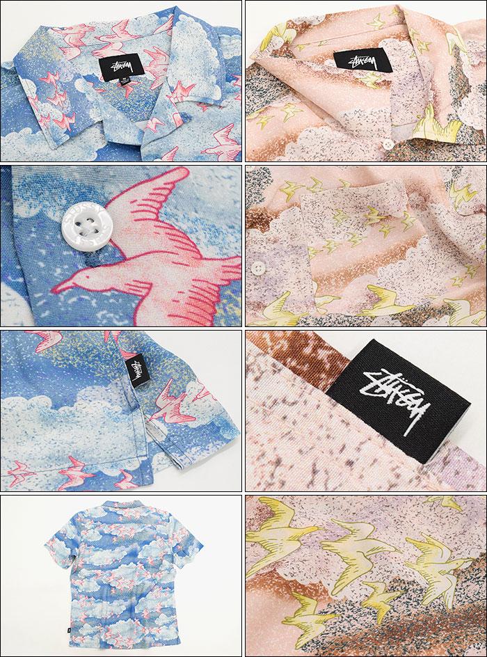 STUSSYステューシーのシャツ Cloud And Birds02
