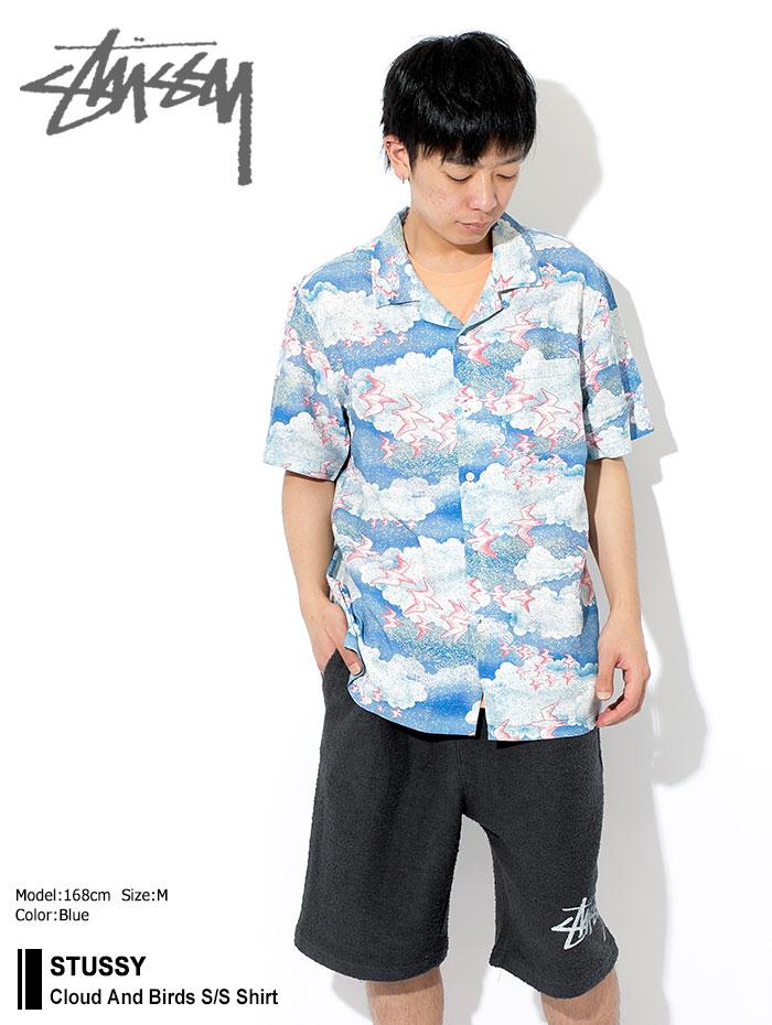 STUSSYステューシーのシャツ Cloud And Birds01