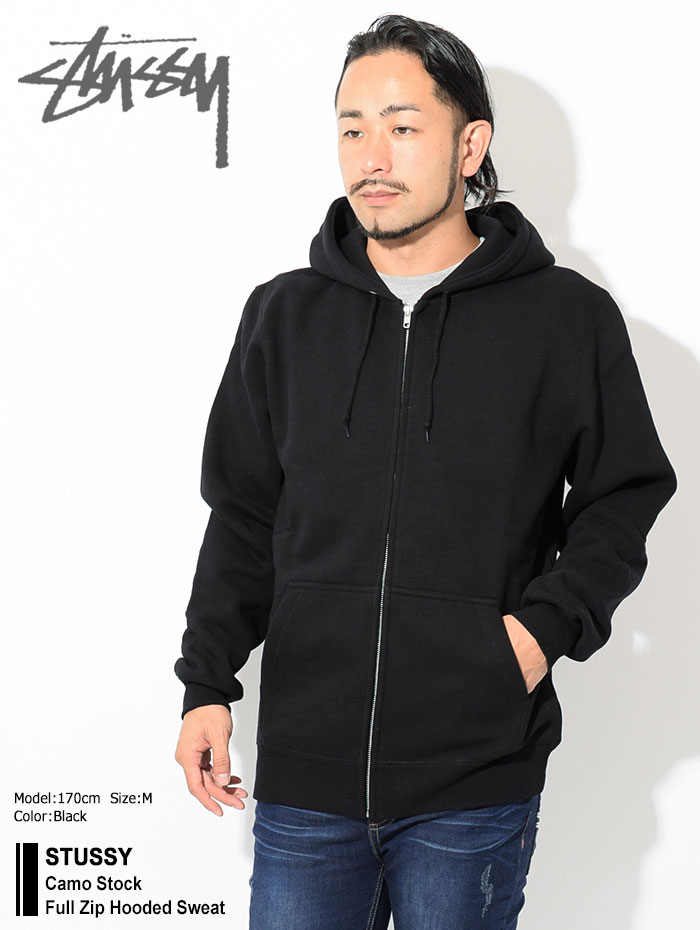 STUSSYステューシーのパーカー Camo Stock Full Zip Hooded Sweat01