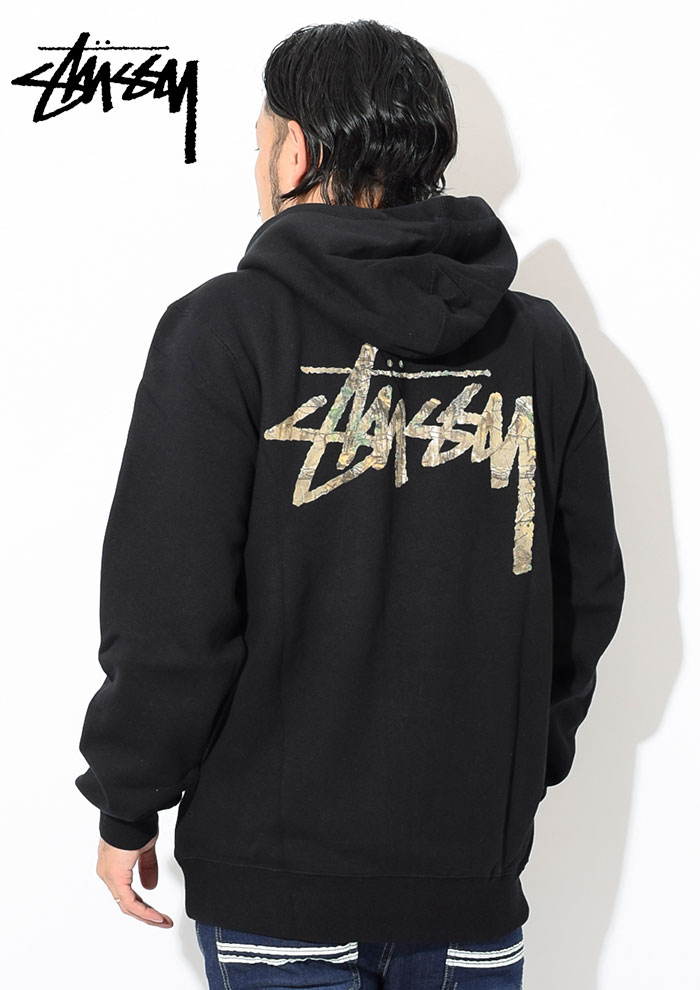 STUSSYステューシーのパーカー Camo Stock Full Zip Hooded Sweat02