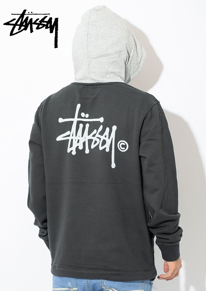 STUSSYステューシーのパーカー 18FA Two Tone Pullover Hoodie02