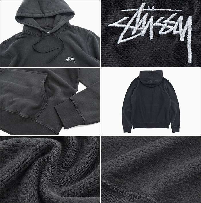 STUSSYステューシーのパーカー Stock Logo Pullover Hoodie03