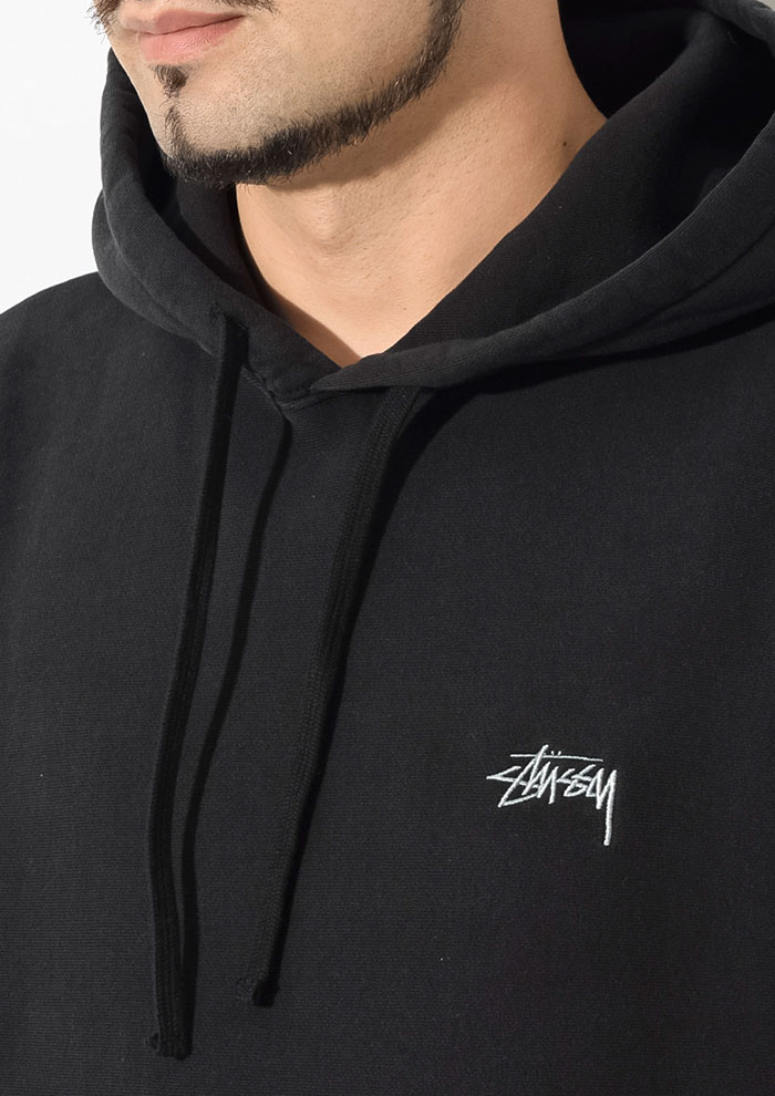 STUSSYステューシーのパーカー Stock Logo Pullover Hoodie02