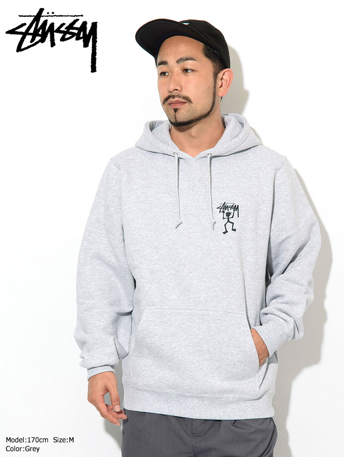 STUSSYステューシーのパーカー Warrior Man Hooded Sweat03