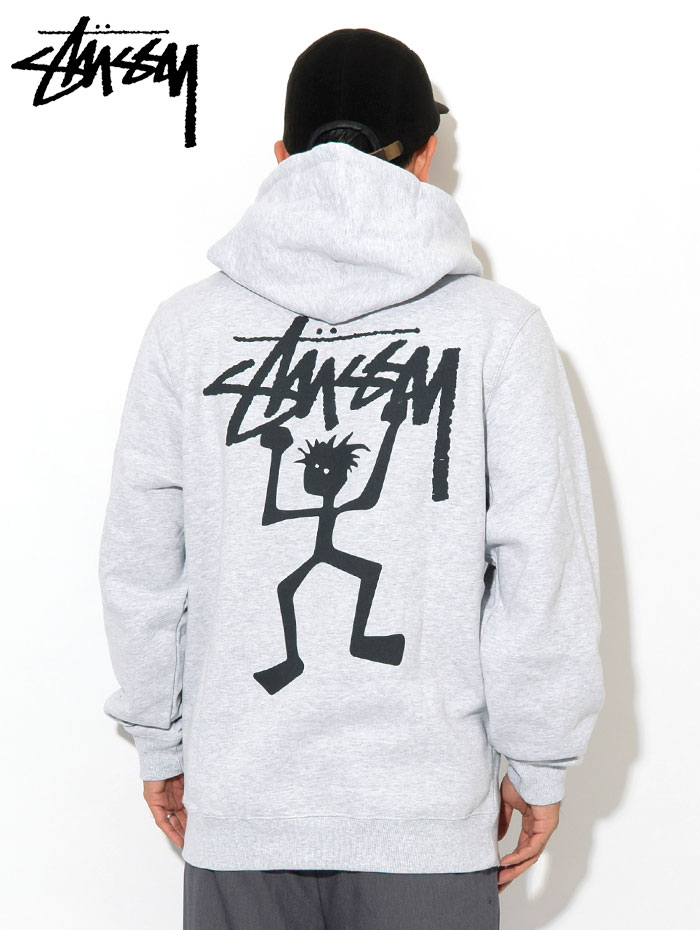STUSSYステューシーのパーカー Warrior Man Hooded Sweat04